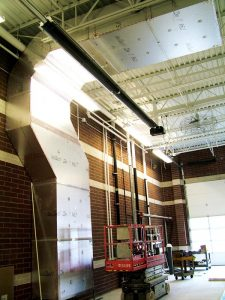 Kool-Air Manufacturing KoolDuct® at Fire Station