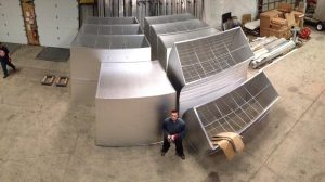 Kool-Air Manufacturing duct ready to ship